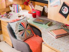 You want to give your dorm room personality, but you can't damage the walls. Sound familiar? We've got you covered with these fun, easy and completely removable dorm room DIYs. From the experts at HGTV.com.