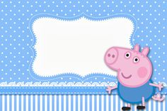 Kit para Festas George Pig (Peppa Pig):