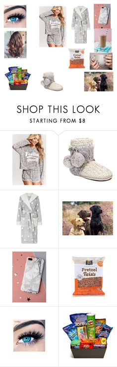 """""""Untitled #330"""" by maddison-baron on Polyvore featuring Forever 21, Muk Luks, John Lewis, Velvet Caviar, MINX and Junk Food Clothing"""