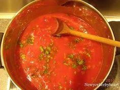 Louisa Lorang's rustikke tomatsuppe…..