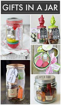 15 DIY Gifts In A Jar - amazing ideas for easy to make and unique Christmas gifts!