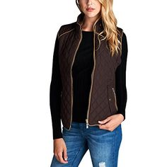 Fashionazzle Women's Lightweight Suede Contrast Quilted Z... https://www.amazon.com/dp/B01IGXA9AI/ref=cm_sw_r_pi_dp_x_OWjYybH1GWDQK