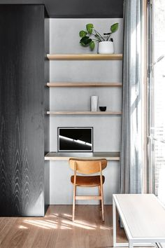 Get the home office design you've ever wanted with these home office design ideas! Feel inspired by the unique ways you can transform your home office! Home Office Design, Home Office Decor, House Design, Home Decor, Study Nook, Office Nook, Minimalist Home, Office Interiors, Living Room Designs