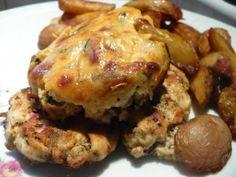 Roston sült csirkemell, zöldségfelfújttal