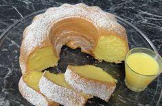 Koňaková bábovka Bunt Cakes, Sweet Cakes, Bagel, Food Hacks, Food And Drink, Sweets, Bread, Homemade, Cookies