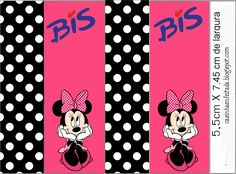 Kit Festa Minnie Rosa Preto e Pink