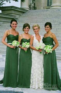 emerald bridesmaid dresses with long sleeves - Google Search