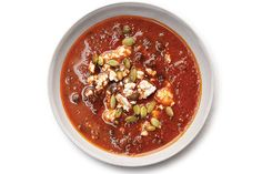 Find the recipe for Black Bean Soup with Roasted Poblano Chiles and other bean recipes at Epicurious.com