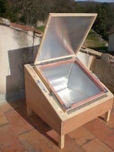 le four solaire sans les réflecteurs