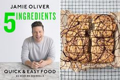 Try this recipe for Chocolate Orange Shortbread from Jamie Oliver's new cookbook, 5 Ingredients: Quick & Easy Food. Jamie Oliver Quick, Jaimie Oliver, Jamie Oliver Carbonara, Jamie Oliver 5 Ingredients, 5 Ingredient Desserts, Thing 1, New Cookbooks, Chocolate Orange, Quick Easy Meals