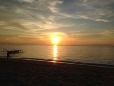 Sunrise at Sanur beach, Bali Sanur Beach Bali, Travel Goals, Sunrise, Celestial, Outdoor, Outdoors, Outdoor Games, The Great Outdoors, Sunrises