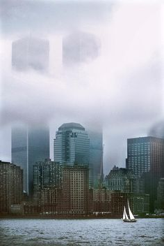 NYC. World Trade Center Towers, 1985