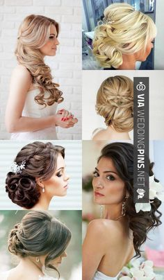 36 best Wedding Hairstyles 2017 images on Pinterest | Bridal ...