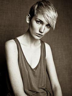 #shorthair #blonde #girlcrush