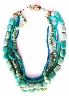 The colour green - myLusciousLife.com - A Little Bit Audrey - necklace.JPG