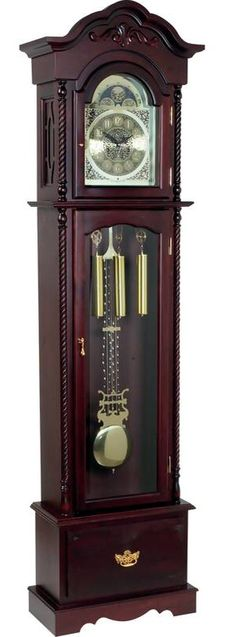 I love grandfather clocks! Would love to have one in my house