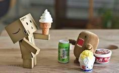 domo and danbo Picnic time!