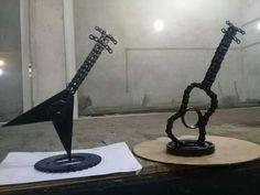 Guitarras de  metal