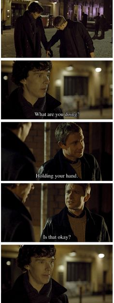 Shipity ship ship, shipity ship ship look at Johnlock goo... (frosty the snowman tune)<-- 99.9% for the comment