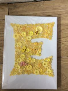 Fantastic yellow E for elena