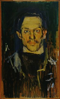 PIcasso, Self-portrait (Yo), 1901