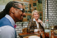 What Would You Serve With Gin and Juice? At the Table With Martha Stewart and Snoop Dogg