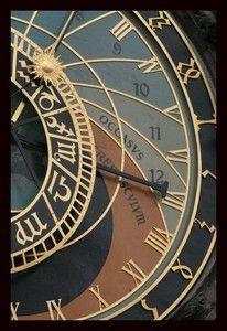 Prague - L'horloge astronomique de l'hôtel de ville de la vieille ville