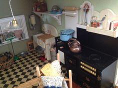1940s kitchen  1