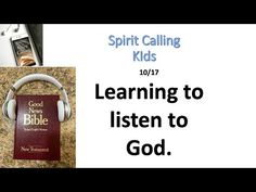 Learning to Listen to God. 10/17 - YouTube