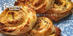 Kıymalı Patatesli Gül Böreği