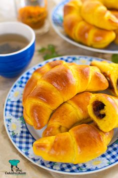 """Archives for the category: """"Cookies"""" Cook with sugar Nutella, Croissants, Hot Dog Buns, Cantaloupe, Donuts, Cake Recipes, Food And Drink, Sweets, Bread"""