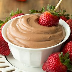 Only FOUR ingredients – Nutella Cheesecake Dip. Unbelievably good!