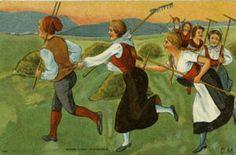 Kunstnerkort Carl Moe tidlig 1900-tall Utg Abels forlag