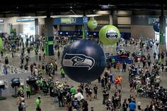 Seattle Seahawks Inflatable Spheres