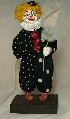 Клоун - Работы для продажи - Прикладное искусство - Работы на различные тематики