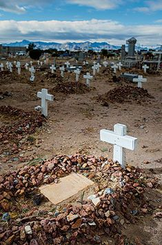 "Concordia Cemetery spans 52 acres just north of Interstate 10 in El Paso. Regarded as one of the most historic ""Old West"" cemeteries in th..."