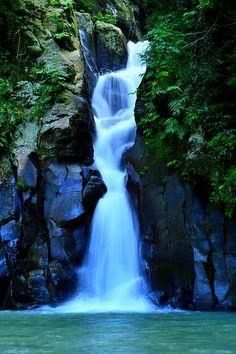 ancient-magics:    Mambukal First Waterfalls by Wilfredo Lumagbas Jr.