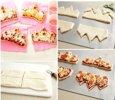 princess-tiara-shaped-pizzas-party-food
