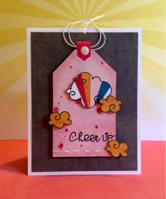 Cheer ^Up^ by Sherri Thompson. Stamps from Paper Smooches.