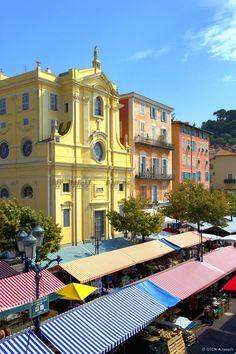 FRANCE Cours Saleyaà Nice Côte d'Azur