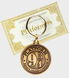 Key ring & Ticket | The Harry Potter Shop at Platform 9 3/4