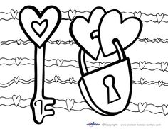 72 Best Valentine Printables Images Valentine Theme Coloring For