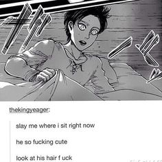 i dont really love Eren i just love this photo XP