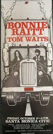 Bonnie Raitt, Tom Waits