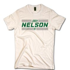 Jordy Nelson Striped Font