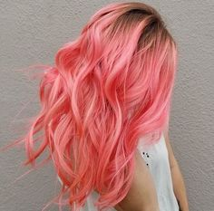 Pink and Rose Gold Hair Shades for 2018 / 2019 - Styles Art Pulp Riot Hair, Pastel Hair, Pastel Pink, Pastel Colours, Bright Hair, Ombre Hair, Hair Shades, Coloured Hair, Pinterest Hair