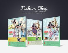 Promote your business with a unique and creative flyer template package.  Perfect for a wide range of fashion & luxury businesses like: Fashion Shop, Fashion Sale or Women & Men Clothing.