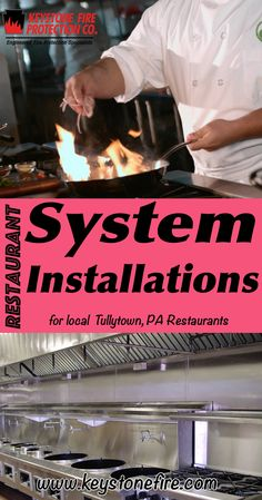 Restaurant Fire Suppression System Installations Tullytown, PA (215) 641-0100 Local Pennsylvania Restaurants Discover the Complete Fire Protection Source.  We're Keystone Fire Protection.. Call us today!