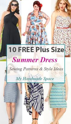 How to sew a plus size dress