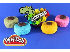 Ищем Сюрприз ИГРУШКИ в Плейдо We are looking for TOYS in Surprise Play Doh